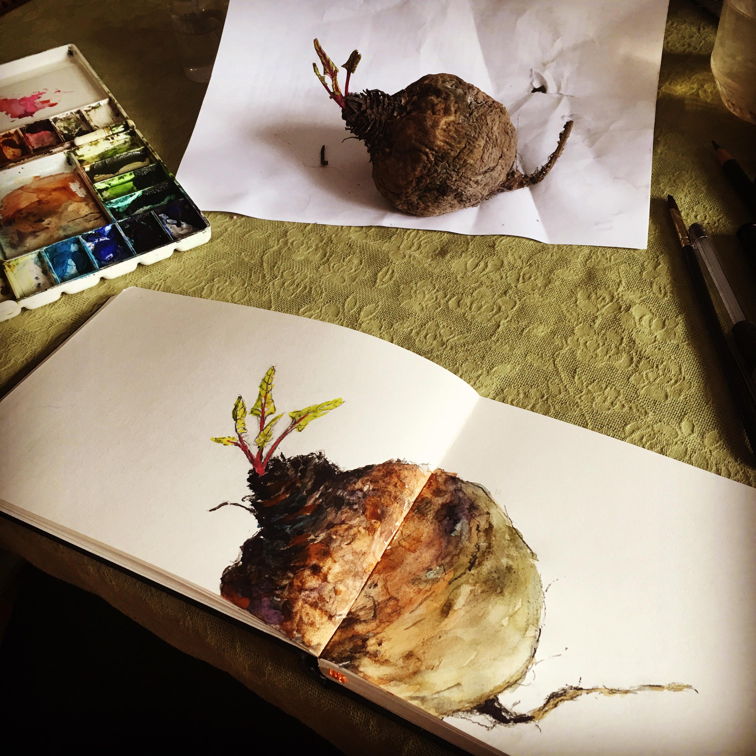 not yet dead beet