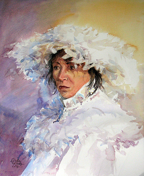 lynda rimke watercolor portrait