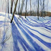 lynda rimke winter watercolor landscape